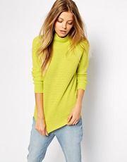 Noisy May – Pullover mit Stehkragen