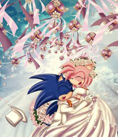 Sonic And Amy, Sonic Boom, Hedgehog Art, Sonic The Hedgehog, Sonamy Comic, Sonic Fan Characters, Sonic Fan Art, Romantic Pictures, Amy Rose