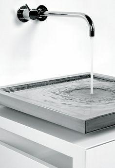 Axolutedesign | T4 Thin washbasin