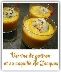 verrine potiron-coquille st jacques