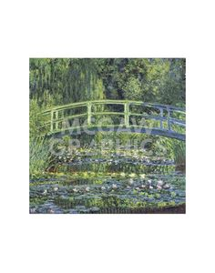 Water Lily Pond, 1899 (blue)