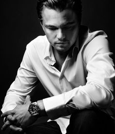 Leonardo DiCaprio for TAG Heuer's 'Takes Center Stage' Watches campaign, November 2012.