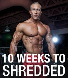 Maximize your fat loss with this 10 week shred workout program. Plus as a bonus - 5 tips to get the most fat loss out of the program! Workout Plan For Men, Weight Loss Workout Plan, Weight Training Workouts, Weight Loss Tips, Gym Workouts, Workout Plans, Lose Weight, 10 Week Workout Plan, Weekly Workouts
