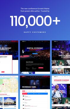 Conference and Event WordPress Theme