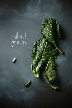 simple yet effective - collard greens