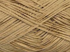 Fettuccia Fine - Latte: 100% Acrylic Ribbon Yarn at Anjicat's Rocking Chair