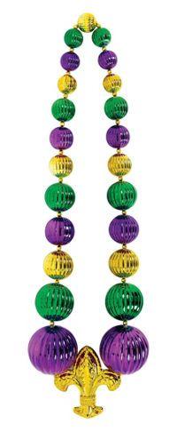 Mardi Gras Beads & Necklaces - Mardi Gras Throws - Party City