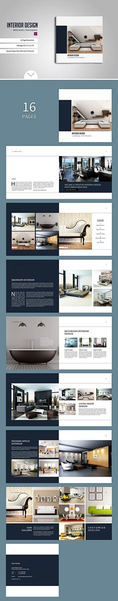 Square Brochure / Catalogs by tujuhbenua on @creativemarket