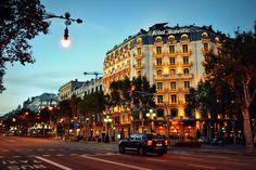 Passeig de Gràcia, Hotel Majestic, Barcelona