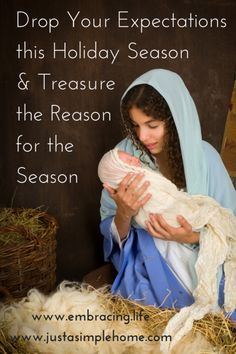 How to simplify the Christmas season by focusing on Jesus' birth