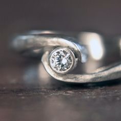 The birthstone for #April is #diamond, but around 50,000 tons of earth has to be mined to find 1 carat of natural diamond. Why not go for a much more ethical lab grown version.