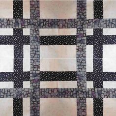 This is a quick and fun block to make which results in a woven design. The layout allows for a variety of dif...