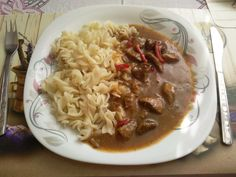 Vepřové na pivu a kečupu. Autor: Adddy Stew, Chili, Spaghetti, Food And Drink, Meat, Ethnic Recipes, Recipes, Author, Beef