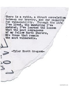 Typewriter Series by Tyler Knott GregsonCome check out the extras on… Longing Quotes, Embrace Quotes, Uplifting Thoughts, Deep Thoughts, Poetry Inspiration, Typewriter Series, Meaningful Words, Look At You, Some Words