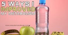 5 Ways I Improved my Metabolism - Salt, Water, Calories, Saturated Fat, & Sleep.