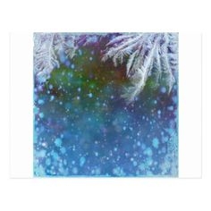 Stars blue sky background abstract postcard - merry christmas postcards postal family xmas card holidays diy personalize