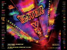 Enter the Void.  Directed by the amazing Gaspar Noe, (he of the brutal and groundbreaking film Irreversible), Enter the Void is a hallucinogenic trip put to celluloid.  Noe's unconventional camera techniques give the entire thing a gritty, realistic POV feel...from the point of view of someone who has just taken DMT and then been killed. Not your average POV movie.  Like Noe's other works, it's not for the faint of heart.