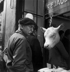 Parigot... Tête de veau ! © Robert Doisneau