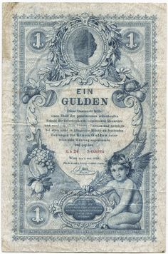 1 Gulden 1888 (Medaillon von Kaiser Franz Joseph I)