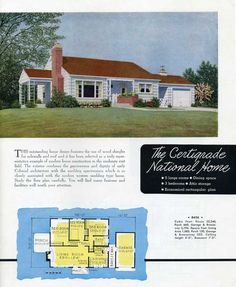 1949 National Homes of Moderate Cost - The Certigrade National Home