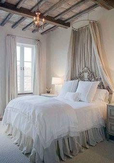 35 ljuvliga sovrum – sätt sovrumsstilen med en sänghimmel - Sköna hem