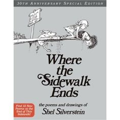 Shel Silverstein. love his books, great childhood memories :-)