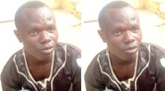 Photo: Man Caught With 7 Human Skulls Wants Police To Hand Him Over To God