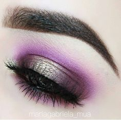 This perfect soft Halo Eye...by @mariagabriela_mua using ND EYESHADOW PALETTE 5 #10💜 ☛ crease, lower lash line NINA'S ORCHID ☛ inner, outer corner, lower lash line AUBERGINE ☛ center SATIN SKIN ☛ center lid, tear duct TRUE GOLD  #NatashaDenona #eyeshadowpalette #ND5EyeshadowPalette #makeup #natashadenonaproducts #halo #eye #eyemakeup #pressedpigment #mua #makeupobsession #makeupaddict