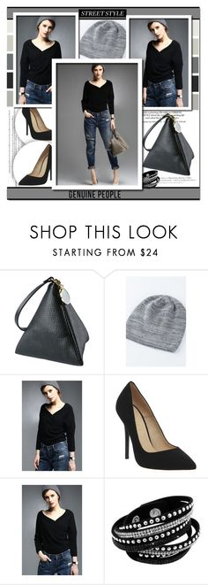 """""""GENUINE-PEOPLE 9."""" by lina-bovary ❤ liked on Polyvore featuring H&M, Seed Design, Office, women's clothing, women's fashion, women, female, woman, misses and juniors"""