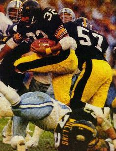 F-1 FRANCO HARRIS PITTSBURGH STEELERS 8X10 SPORTS ACTION PHOTO