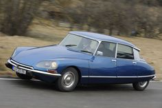 These old Citroen DS have a wonderful design and can run without any computer chips