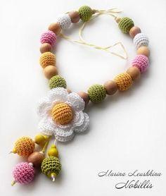 Oksana Plus Hobbies: DIY: Crochet Bead (Сделай сам: Обвязываем бусинку)