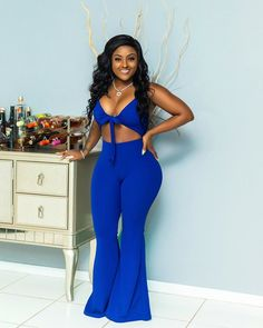 Browse all products in the Jumpsuits/Rompers/Playsuits category from Shawtyfwe Apparel. Playsuits, Jumpsuits, Hips And Curves, Ruffle Jumpsuit, Curvy Girl Fashion, Chic, Tropical, Female Dress, Beautiful Women