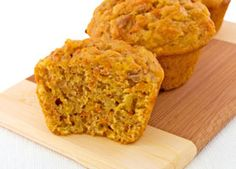 These healthy muffins make a great breakfast or side dish to have with a salad or soup. Freeze them individually for a convenient grab-and-go breakfast.
