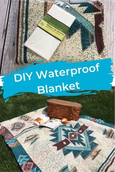 Waterproof Blanket 2019 Raise your hand if you've been to a sporting event and ended up with a wet seat because the grass was damp underneath your blanket. If you've been there keep reading because I have the solution. Diy Blanket Ladder, Bath Bomb Recipes, Shabby, Pallets Garden, Summer Bucket Lists, Hacks Diy, Camping Hacks, Decoration, Picnic Blanket