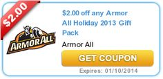 New printable coupons for Neosporin products and Armor All Gift Packs! - http://printgreatcoupons.com/2013/12/18/new-printable-coupons-for-neosporin-products-and-armor-all-gift-packs/