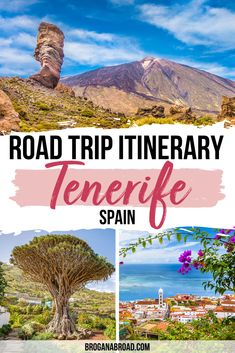 Things to do in Tenerife, Spain | Road Trip itinerary in Tenerife, Spain | Travel Tips for Tenerife, Spain | Best places to visit in Tenerife, Spain | cutest places to see in Tenerife, Spain | Where to visit in Tenerife, Spain | Road trip in Tenerife, Spain |Tenerife Road Trip #tenerife #spain #CanaryIslands #travel #roadtrip