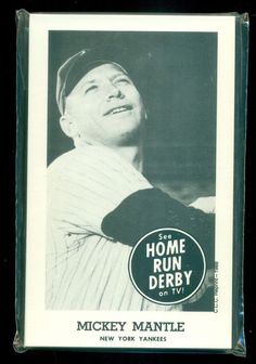 Home Run Derby 1988 CCC Reprint Complete 19 Card Set Sealed Mickey  Mantle f5830