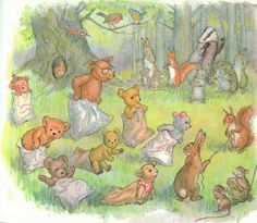"""Teddy Bear Sack Race"" by Molly Brett by contrarymary, via Flickr"