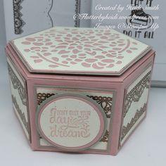 Elegant window box Heidi Smith Flutterbyheidi Stampin Up uk demonstrator