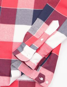 Gitman Vintage Red/White/Blue Check Shirt Jacket
