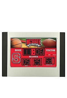 Evergreen NC State Wolfpack Scoreboard Alarm Clock #belk #NCState ncstate wolfpack