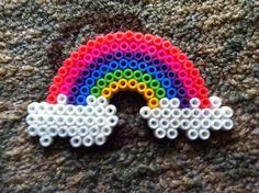 Perler Bead Rainbow