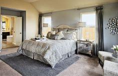 Master #Bedroom #Modern Grey Design and Decor