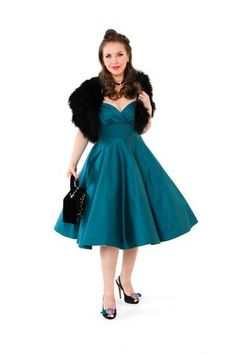 Races Fashion, Skirt Fashion, Fashion Outfits, 50s Style Skirts, Vintage Style Outfits, Vintage Fashion, Bow Belt, Rockabilly, Dancing