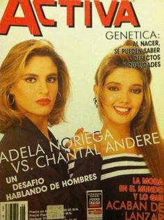 Adela Noriega Y Chantal Andere Revista Activa - $ 50.00