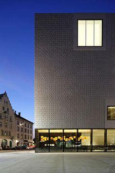 Vorarlberg Museum Bregenz, Cukrowicz Nachbaur Architekten
