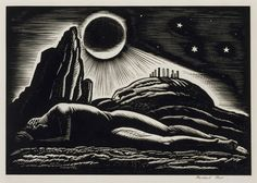 Twilight of Man by Rockwell Kent