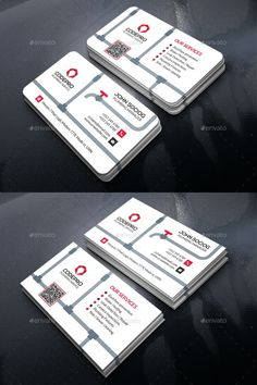 Plumbing Business Card Template PSD