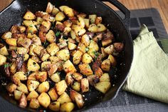 The Perfect Breakfast Potatoes